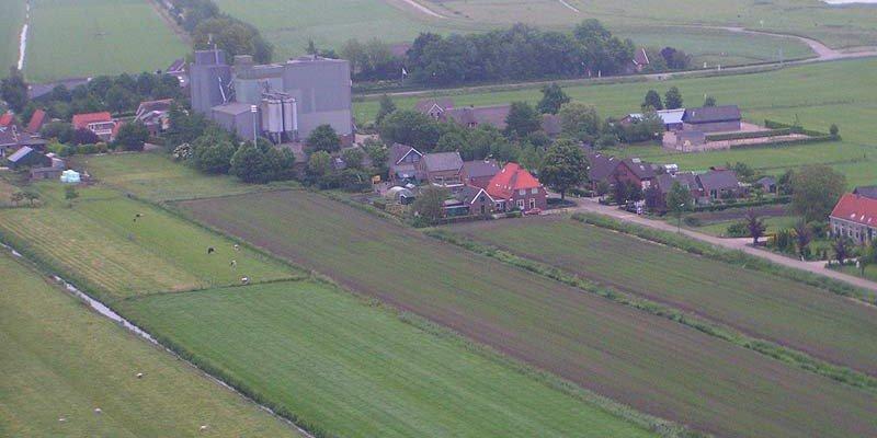 Ontginningen in Schalkwijk ter hoogte van De Heul